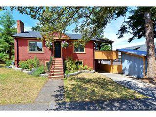 Photo 1: 2210 Victor Street in VICTORIA: Vi Fernwood Single Family Detached for sale (Victoria)  : MLS®# 367746