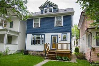 Photo 1: 124 Arlington Street in Winnipeg: Wolseley Residential for sale (5B)  : MLS®# 1715891