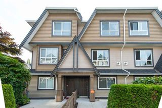 "Photo 1: 27 7333 TURNILL Street in Richmond: McLennan North Townhouse for sale in ""PALATINO"" : MLS®# R2196878"