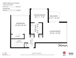 Photo 14: 304 1740 COMOX STREET in Vancouver: West End VW Condo for sale (Vancouver West)  : MLS®# R2178648