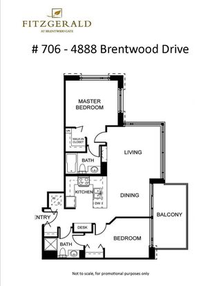 "Photo 30: 706 4888 BRENTWOOD Drive in Burnaby: Brentwood Park Condo for sale in ""THE FITZGERALD"" (Burnaby North)  : MLS®# R2294252"