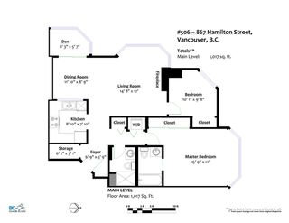 "Photo 18: 506 867 HAMILTON Street in Vancouver: Downtown VW Condo for sale in ""JARDINE'S LOOKOUT"" (Vancouver West)  : MLS®# R2324358"