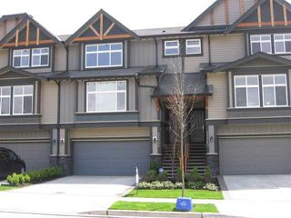 "Photo 1: 22986 GILBERT Drive in Maple Ridge: Silver Valley Townhouse for sale in ""STONELEIGH"" : MLS®# V926463"