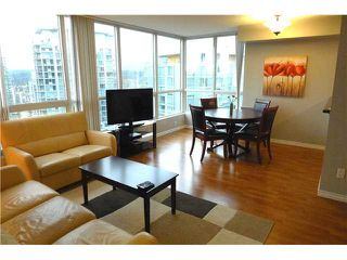 """Photo 2: 1703 588 BROUGHTON Street in Vancouver: Coal Harbour Condo for sale in """"HARBOURSIDE PARK"""" (Vancouver West)  : MLS®# V1035862"""
