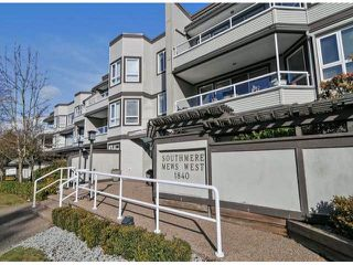 "Main Photo: 312 1840 E SOUTHMERE Crescent in Surrey: Sunnyside Park Surrey Condo for sale in ""SOUTHMERE MEWS WEST"" (South Surrey White Rock)  : MLS®# F1404062"