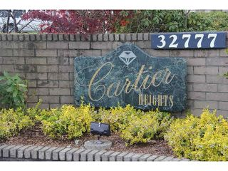 """Photo 14: 9 32777 CHILCOTIN Drive in Abbotsford: Central Abbotsford Townhouse for sale in """"Cartier Heights"""" : MLS®# F1436946"""