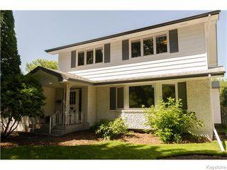 Photo 1: 7 Lancaster Boulevard in Winnipeg: Tuxedo Residential for sale (1E)  : MLS®# 1619970