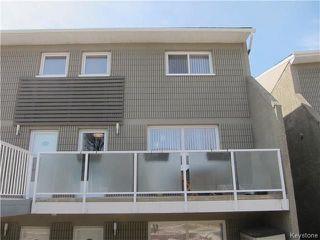 Photo 1: 308 212 Greenway Crescent West in Winnipeg: Condominium for sale (5H)  : MLS®# 1809619