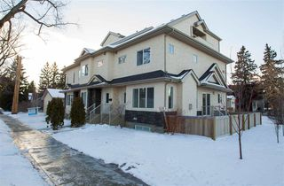 Main Photo: 10140 143 Street in Edmonton: Zone 21 Townhouse for sale : MLS®# E4137631
