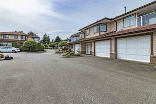 "Photo 1: 32 32659 GEORGE FERGUSON Way in Abbotsford: Abbotsford West Townhouse for sale in ""CANTERBURY GATE"" : MLS®# R2343640"