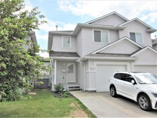 Photo 1: 3 13403 CUMBERLAND Road in Edmonton: Zone 27 House Half Duplex for sale : MLS®# E4147310