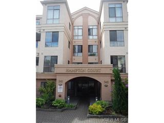 Photo 1: 109 545 Manchester Road in VICTORIA: Vi Burnside Condo Apartment for sale (Victoria)  : MLS®# 337904