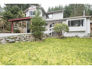 Photo 1: 1529 WHITE SAILS Drive: Bowen Island House for sale : MLS®# V1110930