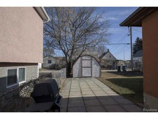 Photo 15: 23 Gallagher Avenue in WINNIPEG: Brooklands / Weston Residential for sale (West Winnipeg)  : MLS®# 1506359