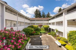 "Photo 1: 205 707 EIGHTH Street in New Westminster: Uptown NW Condo for sale in ""The Diplomat"" : MLS®# R2273026"