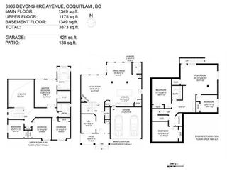 Photo 13: 3366 DEVONSHIRE Avenue in Coquitlam: Burke Mountain House for sale : MLS®# R2357026