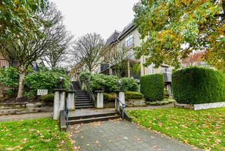 """Photo 1: 25 1561 BOOTH Avenue in Coquitlam: Maillardville Townhouse for sale in """"The Courcelles"""" : MLS®# R2517997"""