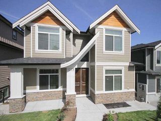 """Photo 1: 1271 JOHNSON Street in Coquitlam: Canyon Springs House for sale in """"CANYON SPRINGS"""" : MLS®# V1134972"""