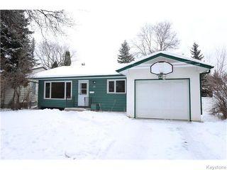 Photo 1: 68 University Crescent in Winnipeg: Fort Garry / Whyte Ridge / St Norbert Residential for sale (South Winnipeg)  : MLS®# 1601431