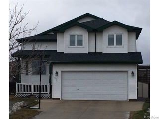Photo 1: 23 Sherbo Cove in Winnipeg: Transcona Residential for sale (North East Winnipeg)  : MLS®# 1603442