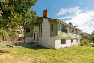 Photo 1: 3977 Saanich Road in VICTORIA: SE Swan Lake Strata Duplex Unit for sale (Saanich East)  : MLS®# 380058