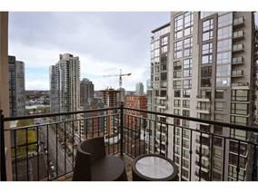 Photo 11: 1802 1280 richards Street in Vancouver: Yaletown Condo for sale (Vancouver West)  : MLS®# V1014823