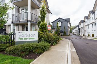 "Photo 39: 33 7665 209 Street in Langley: Willoughby Heights Townhouse for sale in ""ARCHSTONE YORKSON"" : MLS®# R2307315"