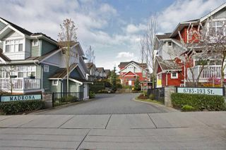 "Photo 2: 14 6785 193 Street in Surrey: Clayton Townhouse for sale in ""Madrona"" (Cloverdale)  : MLS®# R2324663"