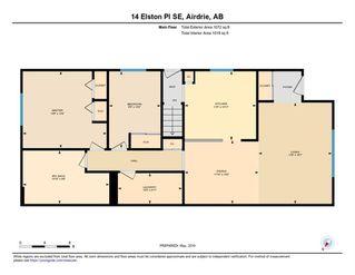 Photo 35: 14 ELSTON Place SE: Airdrie Detached for sale : MLS®# C4245397