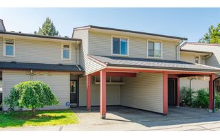 "Photo 1: 192 27456 32 Avenue in Langley: Aldergrove Langley Townhouse for sale in ""Cedar Park"" : MLS®# R2371784"