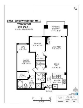 Photo 10: 218 2280 WESBROOK Mall in Vancouver: University VW Condo for sale (Vancouver West)  : MLS®# R2383195