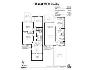 """Photo 30: 134 2844 273 Street in Langley: Aldergrove Langley Townhouse for sale in """"CHELSEA COURT"""" : MLS®# R2522030"""