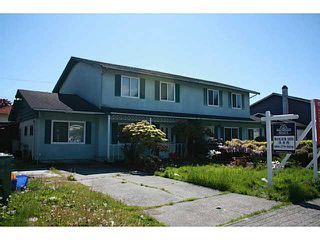 Main Photo: 3620 BLUNDELL Road in Richmond: Seafair House 1/2 Duplex for sale : MLS®# V1121015