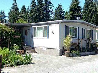 Main Photo: 12 4496 SUNSHINE COAST Highway in Sechelt: Sechelt District Manufactured Home for sale (Sunshine Coast)  : MLS®# V1130786