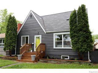 Photo 1: 551 Beaverbrook Street in Winnipeg: River Heights / Tuxedo / Linden Woods Residential for sale (South Winnipeg)  : MLS®# 1616320