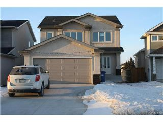 Photo 1: 118 Murray Rougeau Crescent in Winnipeg: Canterbury Park Residential for sale (3M)  : MLS®# 1705284