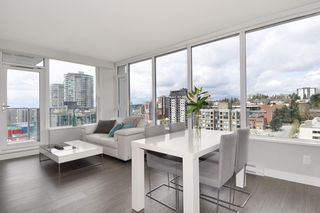 """Photo 2: 1903 668 COLUMBIA Street in New Westminster: Quay Condo for sale in """"TRAPP+HOLBROOK"""" : MLS®# R2156236"""
