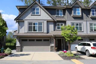 "Photo 1: 38 45085 WOLFE Road in Chilliwack: Chilliwack W Young-Well Townhouse for sale in ""Townsend Terrace"" : MLS®# R2163882"