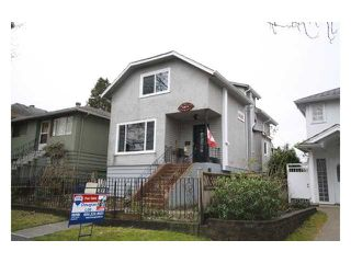 Photo 1: 4833 LANARK ST in Vancouver: Knight House for sale (Vancouver East)  : MLS®# V935096