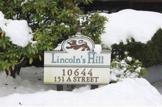 "Main Photo: 113 10644 151A Street in Surrey: Guildford Condo for sale in ""Lincoln Hill"" (North Surrey)  : MLS®# R2341330"