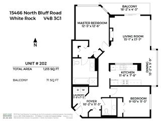 "Photo 19: 202 15466 NORTH BLUFF Road: White Rock Condo for sale in ""THE SUMMIT"" (South Surrey White Rock)  : MLS®# R2400907"