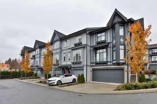 """Photo 1: 22 1221 ROCKLIN Street in Coquitlam: Burke Mountain Townhouse for sale in """"Victoria"""" : MLS®# R2418608"""