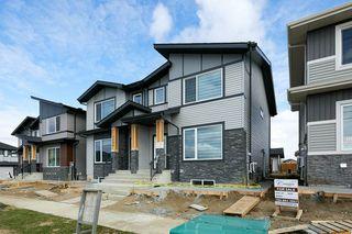 Photo 1: 5084 Chappelle Road in Edmonton: Zone 55 House Half Duplex for sale : MLS®# E4197922