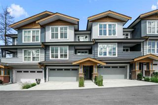 """Photo 1: 3 24086 104 Avenue in Maple Ridge: Albion Townhouse for sale in """"Willow"""" : MLS®# R2522759"""