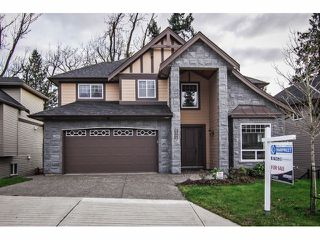 "Photo 1: 2352 MERLOT Boulevard in Abbotsford: Aberdeen House for sale in ""Pepin Brook Estates"" : MLS®# F1326399"