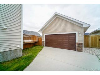 Photo 17: 81 Cobblestone Court in NIVERVILLE: Glenlea / Ste. Agathe / St. Adolphe / Grande Pointe / Ile des Chenes / Vermette / Niverville Residential for sale (Winnipeg area)  : MLS®# 1424479