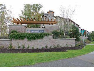 """Main Photo: 418 21009 56TH Avenue in Langley: Salmon River Condo for sale in """"CORNERSTONE"""" : MLS®# F1430585"""