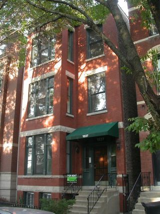Main Photo: 1537 North Park Avenue Unit 1 in CHICAGO: CHI - Near North Side Rentals for rent ()  : MLS®# 08861273