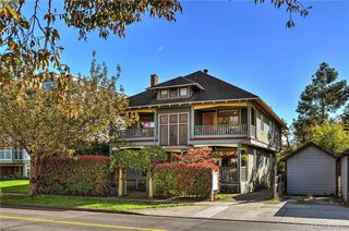 Photo 1: 2 1009 Southgate Street in VICTORIA: Vi Fairfield West Townhouse for sale (Victoria)  : MLS®# 400633
