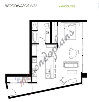 "Photo 20: 1203 108 W CORDOVA Street in Vancouver: Downtown VW Condo for sale in ""Woodwards W32"" (Vancouver West)  : MLS®# R2322561"